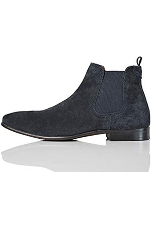 FIND Albany Suede Chelsea Boots, Navy