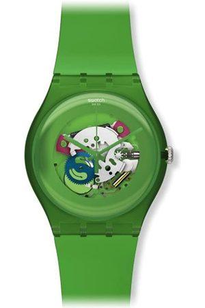 Swatch Uhren - Unisex-Armbanduhr Analog Plastik SUOG103