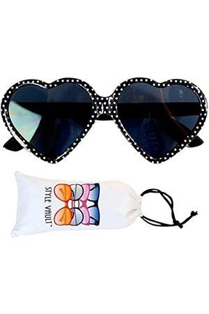 Style Vault Kd3141 Baby-Sonnenbrille mit Herzmotiv, 0-24 Monate, ( mit Punkten)