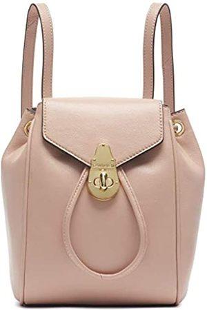 Calvin Klein Damen Soft Lock Lammleder Klein Convertible Rucksack & Crossbody, Pink (Pale Rose)