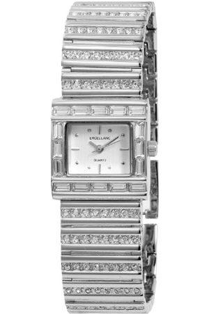 Excellanc Damen-Armbanduhr Analog Quarz Verschiedene Materialien 152922500002
