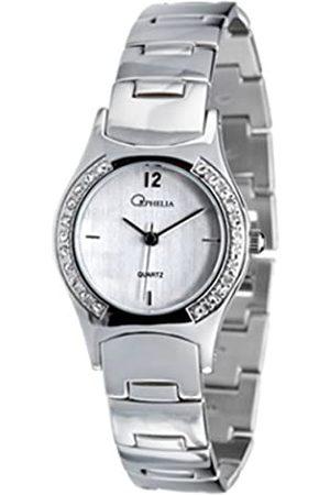 ORPHELIA Damen-Armbanduhr Analog Quarz Zirkonia 150-2112-88