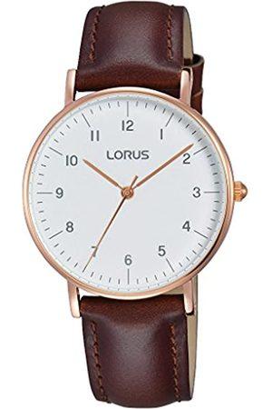 Lorus Watches Damen Analog Quarz Uhr mit Leder Armband RH802CX9