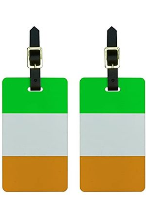 Graphics and More Graphics & More Gepäckanhänger mit Irland-Flagge (Weiß) - Luggage.Tags.0111
