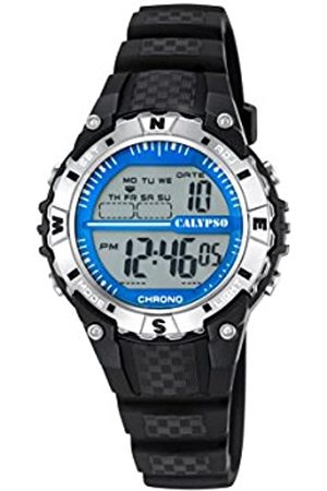 Calypso Unisex Digital Uhr mit Plastik Armband K5684/1
