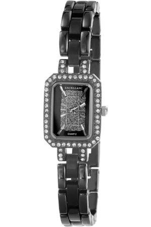 Excellanc Damen-Armbanduhr Analog Quarz Verschiedene Materialien 185171000003