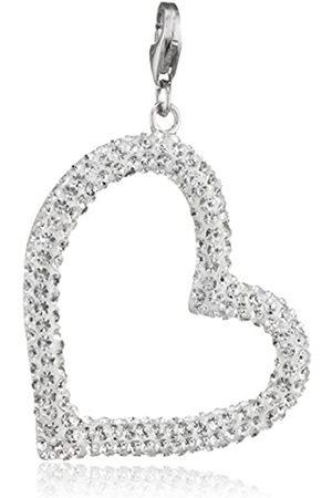 Pasionista Damen-Anhänger 925 Silber rhodiniert Kristall Brillantschliff - 640310