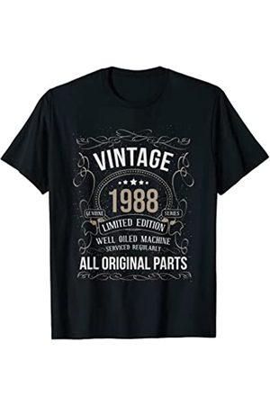 Wowsome! Vintage 1988 33rd Birthday All Original Parts Men Women T-Shirt