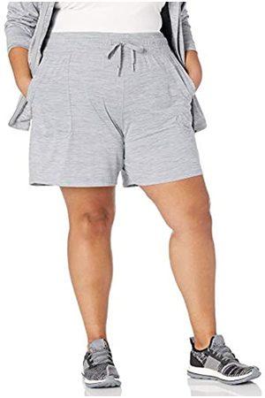 Amazon Plus Size Brushed Tech Stretch Shorts 3XL Größen