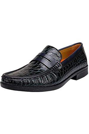 GOLDEN COXES FAMILY Herren Slip-On Loafers formelle Leder Kleid Schuhe