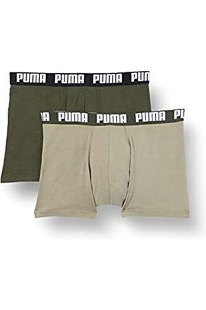 PUMA Herren Basic Men's (2 Pack) Boxer Shorts