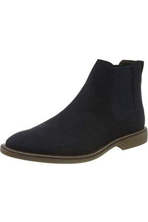 FIND Marsh Herren Chelsea Boots Stiefel, (Navy Suede Look)