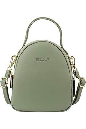 Aeeque Rucksack Damen Mini, Kleiner Rucksäcke Damen Elegant,[Aktualisierung 2 Schulterriemen] Handtasche Klein Umhängetasche PU-Leder für Mädchen Frauen