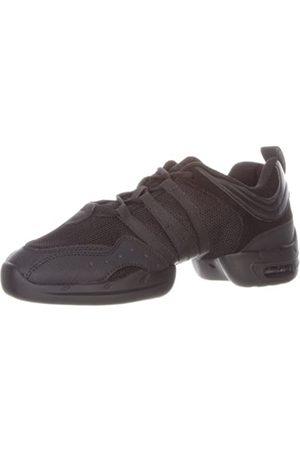 SANSHA Tutto Nero Dance Sneaker,Black