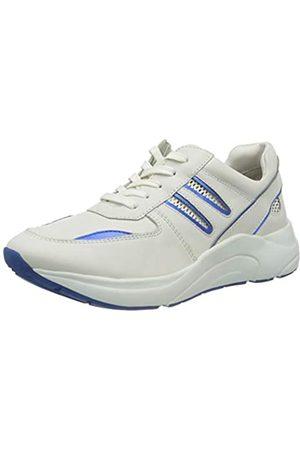 Caprice Damen KISS Sneaker, (White/Blue 137)