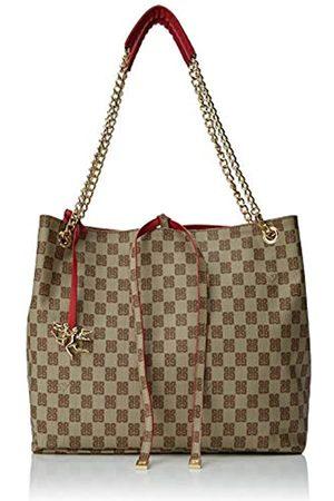 PIERO GUIDI Shopping Con Catena, Damen Schultertasche, 32x28,5x13