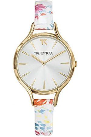 Trendy Kiss TrendyKissDamenAnalogQuarzUhrmitLederArmbandTG10101-03