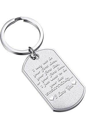 FUSTMW Schlüsselanhänger für Paare, Geschenke für Freund, Liebhaber, Freundin, Geburtstagsgeschenk, Ehemann, Ehefrau, Jahrestag, Hochzeitsgeschenk für Sie und Ihn