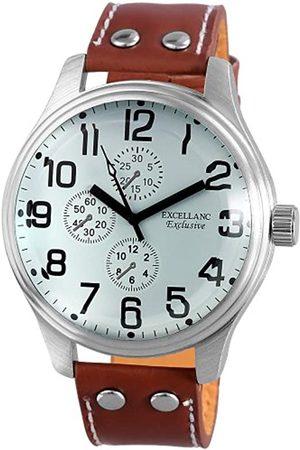 Excellanc Herren-Uhren mit Polyurethan Lederband 295722200013