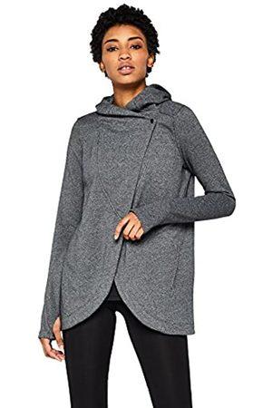 AURIQUE Amazon-Marke: Damen MKSS18AZL03 Kapuzenjacke, Grau (Dark Grey)