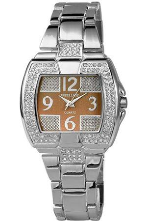 Excellanc Damen-Uhren mit Metallband 185627000002