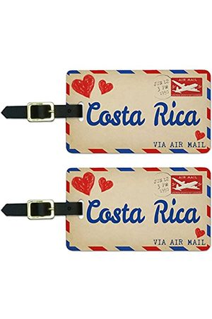 Graphics and More Graphics & More Luftpostkarte Love for Costa Rica, Gepäck, Koffer