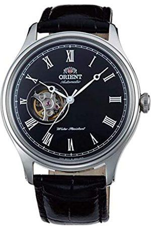 Orient Unisex Erwachsene Analog Automatik Uhr mit Leder Armband FAG00003B0