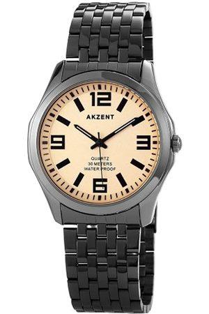 Akzent Herren-Armbanduhr XL Analog Quarz Verschiedene Materialien SS7477500042