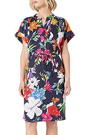 GANT Damen D2. Humming FLORAL Popover Dress Kleid