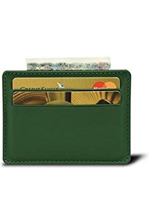 Lucrin Kreditkartenetui für 4 Karten - - Glattleder