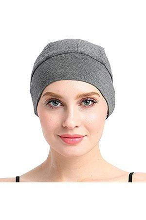 FocusCare Schlafhaube aus Bambus für Haarausfall für Chemo-Frauen - Grau - Einheitsgröße