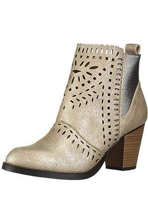 Rampage Damen Women's Echer Perforated Block Heel Ankle Bootie Stiefelette