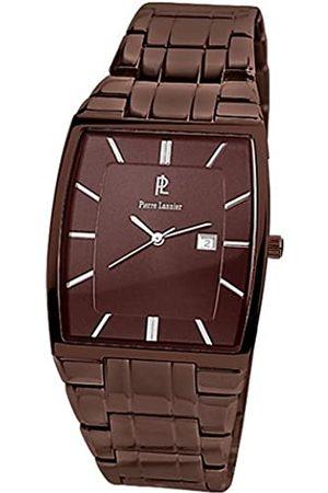 Pierre Lannier 249 F499 – Armbanduhr – Quarz Analog – Zifferblatt Armband Stahl