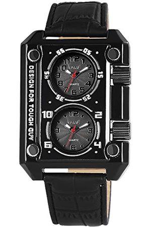 FAME Herren-Armbanduhr Analog Quarz verschiedene Materialien 200371000005