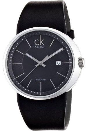 Calvin Klein Herren-Armbanduhr XL Trust Analog Leder K0H21107