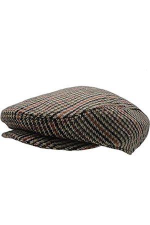 Wonderful Fashion Klassischer Herringbone Tweed Newsboy Efeu Hut (Large/X-Large