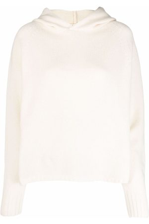 MA'RY'YA Damen Sweatshirts - Gerippter Hoodie