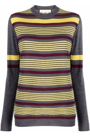 Plan C Striped knit jumper