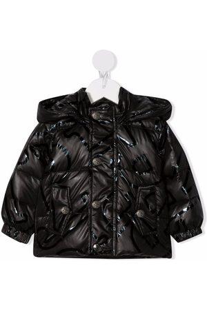John Richmond Junior Padded hooded jacket