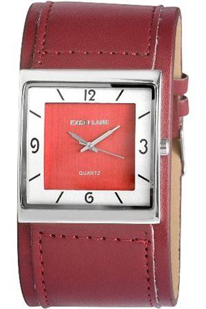Excellanc Damen-Uhren mit Polyurethan Lederband 193025000347