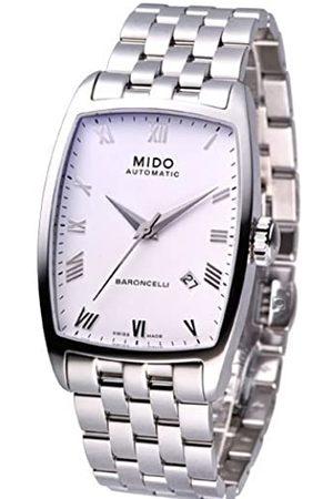 MIDO Herrenuhren-Automatikuhr Baroncelli Tonneau Herrenuhr M0035071101300