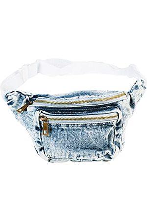 Funny Guy Mugs Premium Jeans Gürteltasche – Retro Denim Acid Washed Jeans Fanny Pack