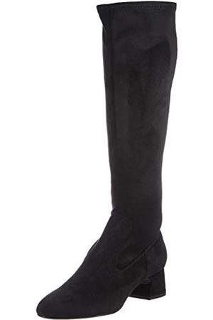 unisa Damen Overknee-Stiefel, BLACK