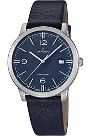 Candino Herren Analog Quarz Uhr mit Leder Armband C4511/2