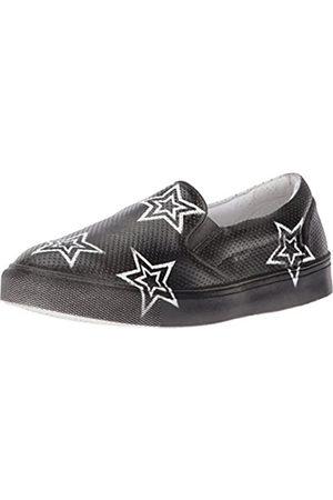 Mia Women's Star Fashion Sneaker, Black