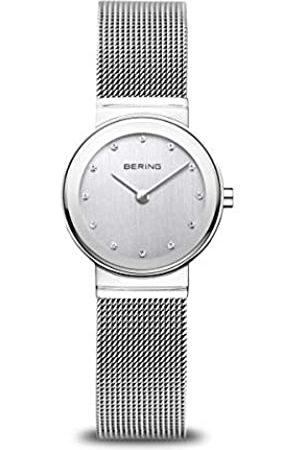 Bering Damen Analog Quarz Classic Collection Armbanduhr mit Edelstahl Armband und Saphirglas 10126-000