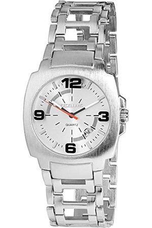 Excellanc Herren Analog Quarz Uhr mit Verschiedene Materialien Armband 284022500110