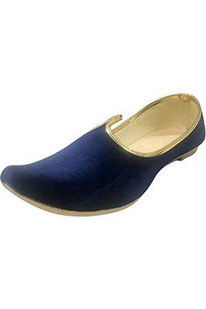 Step N Style Khussa-Schuhe für Herren, Punjabi-Jutti, ethnische Juttiperlen, indische Schuhe