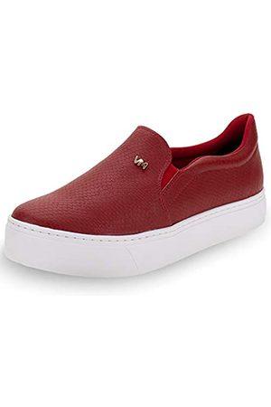 VIA MARTE Damen-Sneaker mit Plateau, gepolsterte Innensohle, bequem, Tierdruck