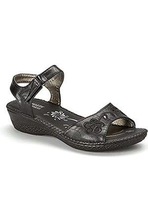 Madness Damen-Sandale mit offenem Zehenbereich, ( 5983)